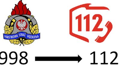 Przełączenie nr alarmowego 998 do Centrum Powiadamiania Ratunkowego 112